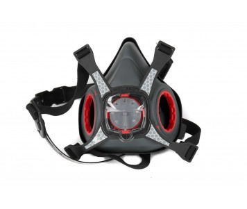 Force8 Twin Cartridge Half Mask Respirator