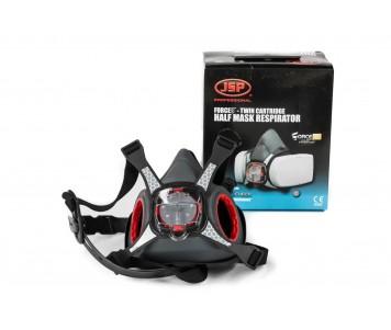JSP Force8 Twin Cartridge Half Mask Respirator