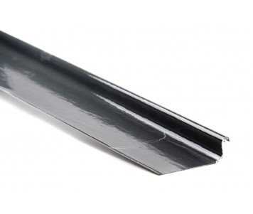 'C' Trim - Glass Fibre Roof Edge Trim 'C' Simulated Lead Cover Trim