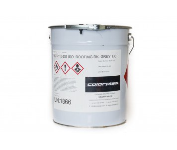 Roofing Top Coat - dark grey fire retardant